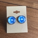 Glass & Stainless Steel Studs