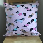 Beautiful Dachshunds Cushion (inc insert)