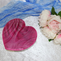 Pink Love Heart Box
