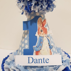 Peter Rabbit Party Hat 1st First Birthday Custom Made