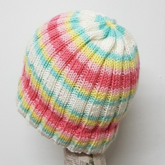 Icecream sundae ribbed beanie