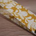 Mustard Swirl Key Fob/Wristlet