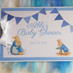 Peter Rabbit Guest Book Name Birthday   or Baby Shower Sign in