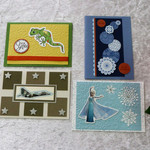 Set of 4 Cards /Unisex/Any Occasion/ Birthday