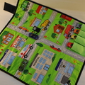~ Take Anywhere Car Playmat with 4 car 'garage' ~ FREE POSTAGE ~ Ready to Post ~