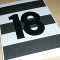 18th or any age Happy Birthday card