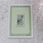 Green Unisex Baby Card