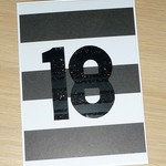 18th or any age Happy Birthday card
