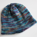 Tiny Newborn Baby Hat - Hand knitted in pure wool