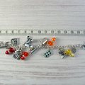 I Love To Cook Key Chain, Baking Key Ring , Knitting Accessories, Beaded Markers