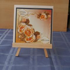 Flower card (3d)
