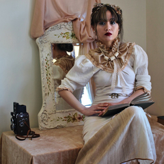 Rustic Victorian Dress Tailor-Made