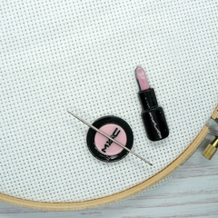 Makeup 2 Magnetic Needle Minder, Needle Nanny, Cross Stitch, Embroidery, Quiltin