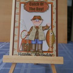 Fishing Card (3d)