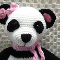 Panda: FREE POSTAGE, Ready to Post, Crochet Toy,  Girl Gift