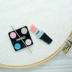 Makeup 1 Magnetic Needle Minder, Needle Nanny, Cross Stitch, Embroidery, Quiltin