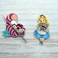 Interchangeable Alice Magnetic Needle Minder, Needle Nanny, Cross Stitch, Embroi