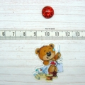 SEW BEARABLE Sewing Bear #1 Resin Magnetic Needle Minder, Needle Nanny, Cross St