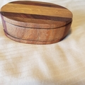 Hand-made wooden storage box for jewellery / trinkets/ paper clips etc