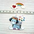 Interchangeable Rainbow Unicorn Magnetic Needle Minder, Needle Nanny, Cross Stit