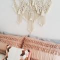 Tassels Large Macrame Wall Hanging, Boho Decor, Bohemian, Wall Art
