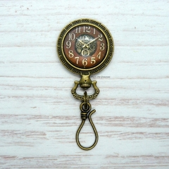 Antique Watch Portuguese Magnetic Knitting Pin, Knitting Pin, Magnetic Knitting