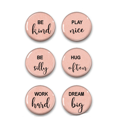 Family Rules fridge magnets set of 6