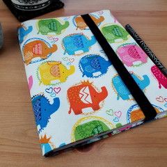 New Baby Gift A5 Journal Cover with Elastic Closure