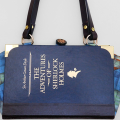 The Adventures of Sherlock Holmes - Sir Arthur Conan Doyle -Bag made from a book