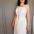 SALE Ready-Made Linen Dress Size X Large