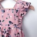 Size 18mths - Bellevue Romper - Dusty Pink Floral - Cotton - Playsuit - Ruffles