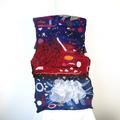 Felted Scarf Wool Silk Nuno felting Wrap Felt Shawl Blue Red Mustard Colorful Fe