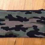 Khaki Camouflage Pencil Case