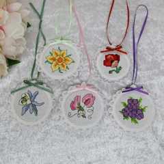 Flower Collection Cross-Stitch