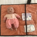 Baby change mats with pockets