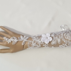 Bride Gloves Fingerless #LDBGFl57