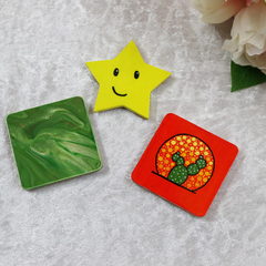 3 Handmade Fridge Magnets