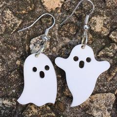 Ghost earrings