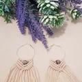 Macrame Hemp Earrings