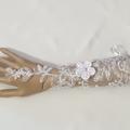 Bride Gloves Fingerless #LDBGFl57