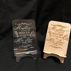 Phone Holder - Mightier than the waves