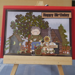 Birthday Card (3d)