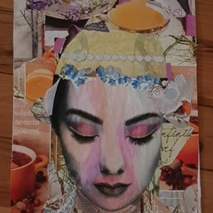original Asia collage//unframed''.
