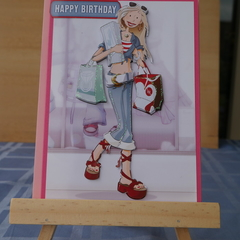 Birthday Card 3d)