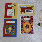 Set of 4 Cards Boy / Girl   Birthday / Any Occasion Child/Teen