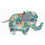 Gender Neutral Elephant Taggie Toy