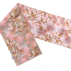 Australian native floral reversible table runner - LITTLE PENDA
