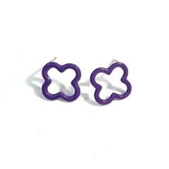 Clover  statement studs
