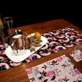 Australian native floral reversible table runner - Lilly Pilly