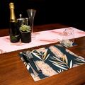 Australian native floral reversible table runner - CALLISTEMON/BOTTLEBRUSH